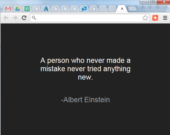 a-random-quote-visible-in-new-tab-of-Google-Chrome